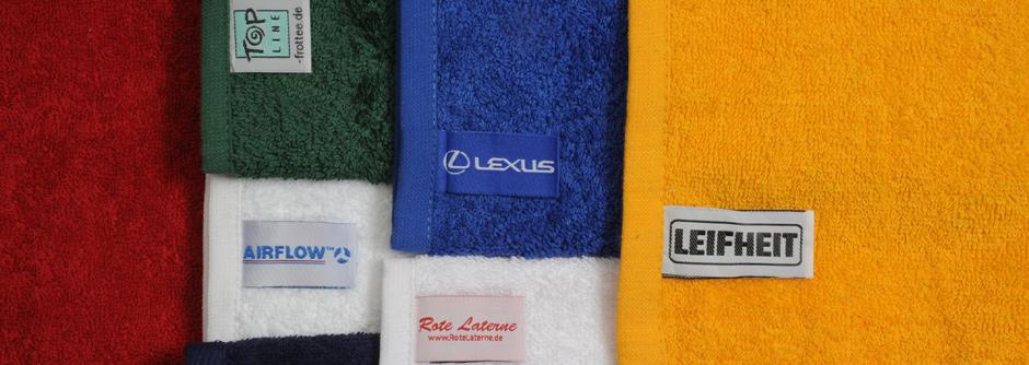 Waschanleitung für Handtuch und Duschtuch