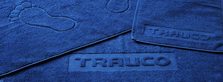Hoch-Tief-Webung für Handtuch oder Duschtuch