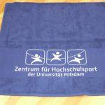 Bodüreneinwebung Zentrum für Hochschulsport UNI Potsdam