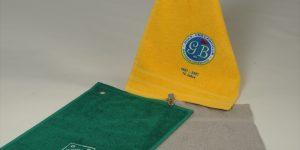 Golfhandtuch personalisiert