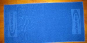 Handtuch mit Logo Einwebung