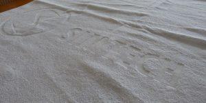 Strandtuch gewebt
